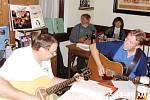Brázda Band s Andy Seidlem v akci.