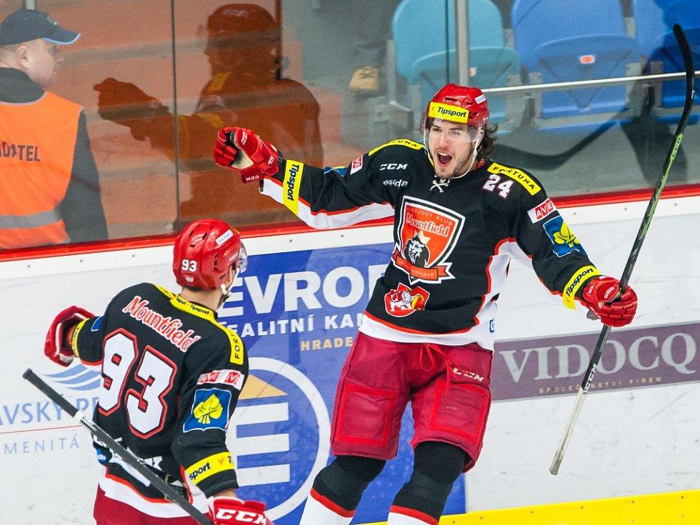 Tipsport extraliga ledního hokeje: Mountfield HK - HC Škoda Plzeň.