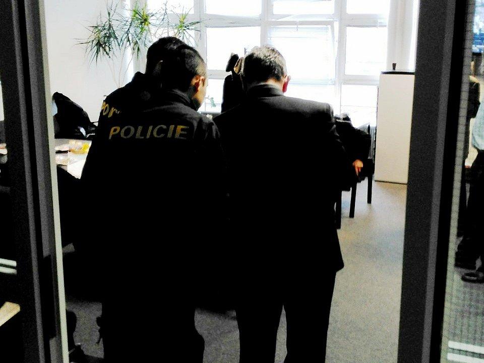 Incident při imatrikulacích na hradecké univerzitě.