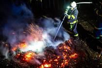 Hasiči varují před požáry, pozor na čarodějnické ohně.