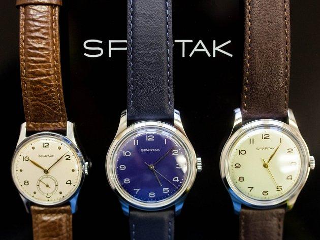 Limitovaná edice hodinek Spartak.