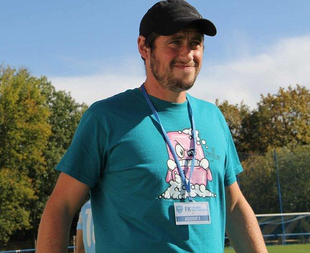 Tomáš Hrabík nyní vede Chlumec nad Cidlinou ve třetí nejvyšší soutěži.