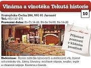 Vinárna a vinotéka Tekutá historie