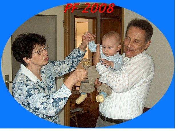 Půlroční vnouček dobře si vede, bezpečně pozná rulandské šedé. (Čtenářský příspěvek)