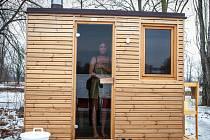 Sauna a osvěžovna NUUK.