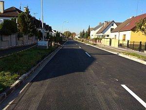 Oprava hradecké Úprkovy ulice