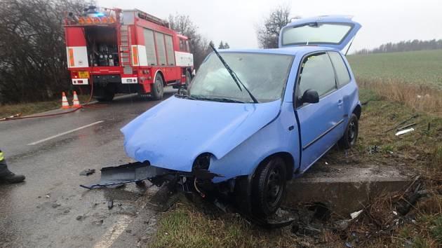 Tragická nehoda u Starého Bydžova.