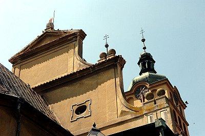 Kostel svaté Voršily v Chlumci nad Cidlinou