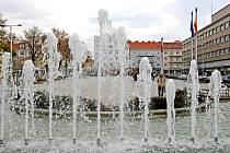 Ulrichovo náměstí v Hradci Králové.