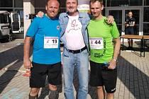 Zleva Vladan Haleš, Miroslav Antl a Miroslav Hofmann.