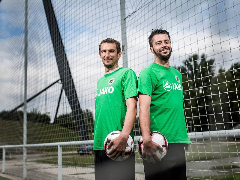 Fotbalisté Jiří Janoušek a Marek Plašil.