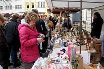 Martinské trhy v Hradci Králové.