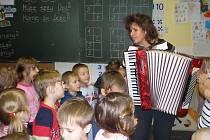 Předvánoční akce v Základní škola Masarykova v Rychnově nad Kněžnou.