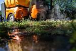 Představení technologií na ekologickou likvidaci plevele v Hradci Králové.