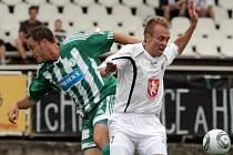 Přípravné utkání mezi FC Hradec Králové a FK Bohemians Praha