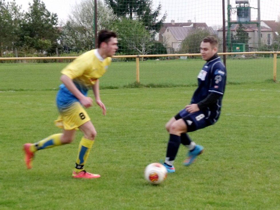 Krajská fotbalová I. B třída, skupina H: TJ Slavoj Předměřice nad Labem - TJ Baník Vamberk.