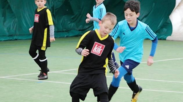 Stěžerská zimní halová liga mladých fotbalistů.