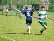 Krajský přebor ve fotbale: FC Olympia Hradec Králové - TJ Dobruška.