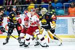 Hokejová extraliga: Mountfield HK - HC Verva Litvínov.