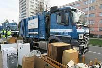 Jarní svozy odpadů lámaly v Hradci rekordy