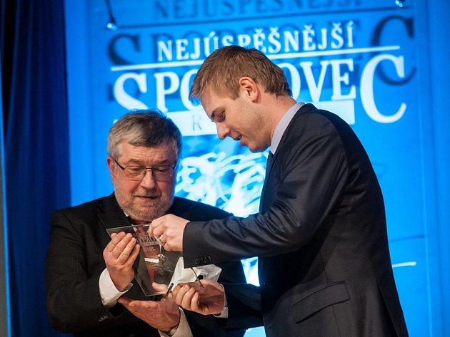 Zvyhlášení výsledků ankety Nejúspěšnější sportovec roku 2015města Hradec Králové.