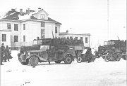 Okupace letiště 15. 3. 1939 - stav v 15.30 hodin.