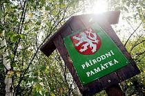 Přírodní památka Plachta v Hradci Králové.
