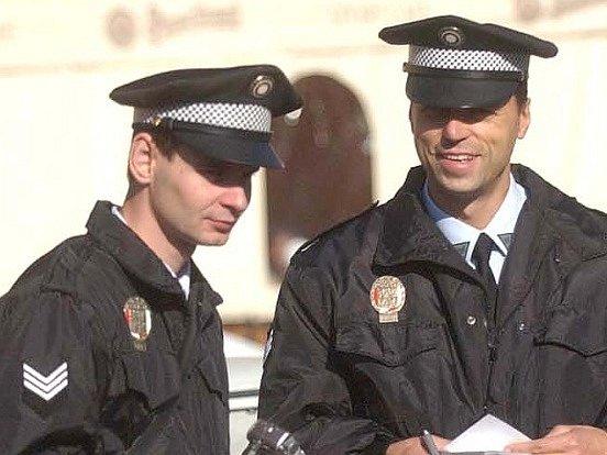 Hradečtí strážníci, ilustrace