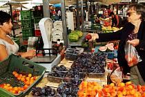 Trhovci na volném prostranství