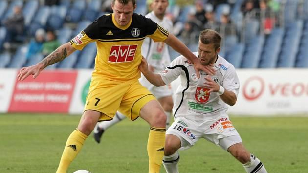 Fotbalová I. Gambrinus liga: FC Hradec Králové - SK Dynamo České Budějovice.