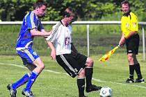 Fotbal, divize C: FC Hradec B - Letohrad. Ilustrační foto