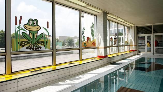 Plavecký bazén v Hradci Králové: dětský bazén.