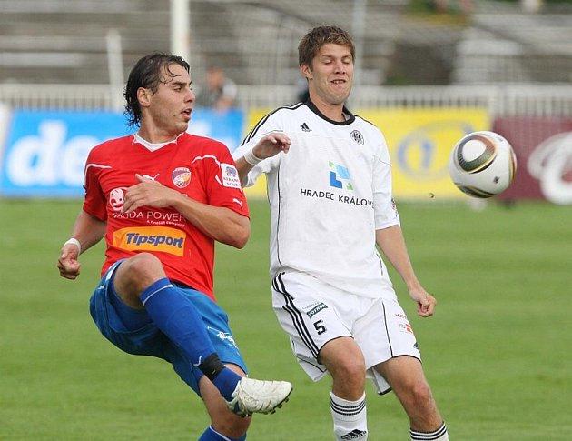 Gambrinus liga - 4. kolo: Hradec Králové - Plzeň 0:3