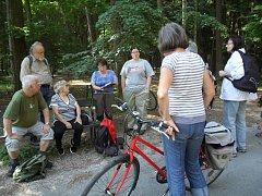 Mykologové objevovali hradecký lesní hřbitov z jiné stránky.