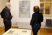 Zahájení multimediální výstavy v královéhradecké galerii Na Hradě.