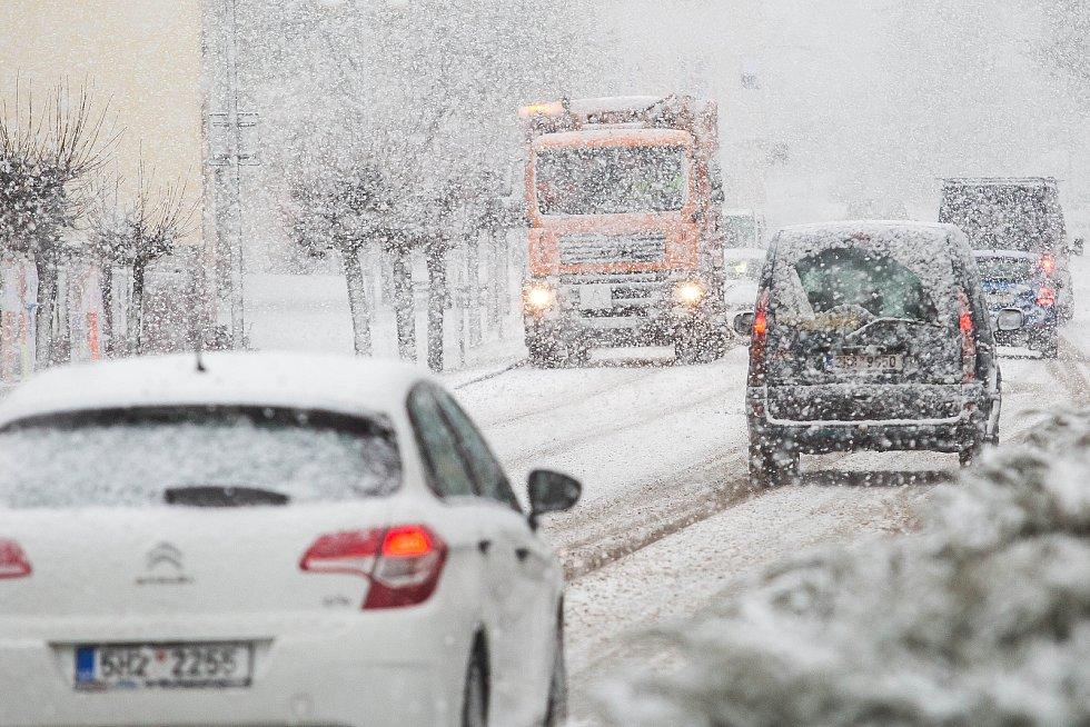 Sněhová kalamita na Královéhradecku.