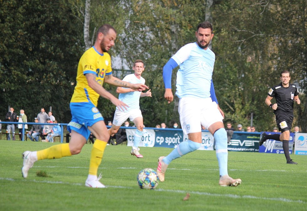 Fotbalový MOL Cup: FK Chlumec nad Cidlinou - FK Teplice.