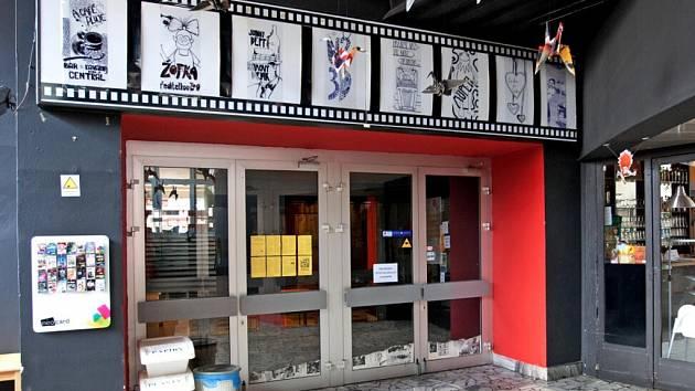 Kino Centrál v Hradci Králové.