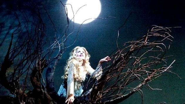 Záběr z opery Rusalka.