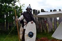 Akce Zrušnost Keltů v Archeoparku Všestary.