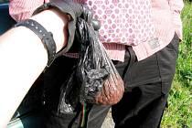Recidivista schovával léky na výrobu drog na intimních místech