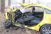 Tragická nehoda u Černožic.