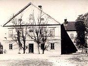 Dům č.p. 1 v Kunčicích v minulosti.