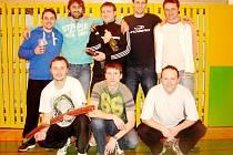 Celek Montela MH Hradec Králové Junior, vítěz jubilejního 20. ročníku Poháru ředitele Dopravního podniku Hradec Králové Miloslava Kulicha.
