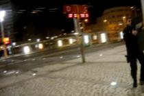 Zásah policie u hlavního nádraží