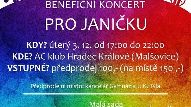 Koncert pro Janičku