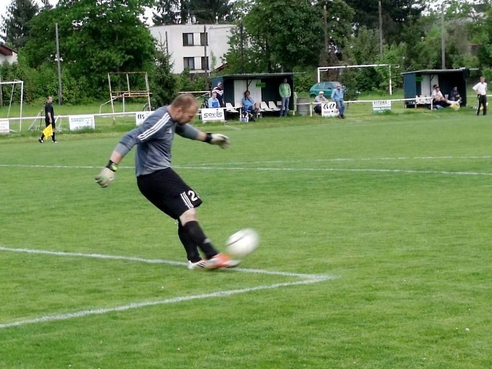 Krajská fotbalová I. B třída, skupina G: TJ Sokol Malšovice - FC Spartak Kobylice.