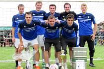 Mambo team - zleva nahoře: Jan Charvát, Radim Žalman, Michal Rohlíček, Petr Soldán, Radek Novák; zleva dole: Jindřich Václavek, Lukáš Rohlíček, Jindřich Laštovička.