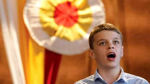 Hradecký slavík - pěvecká soutěž v královéhradeckém Adalbertinu.