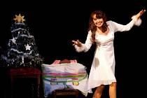 Vánoční koncertování Hudebního divadla dětem.